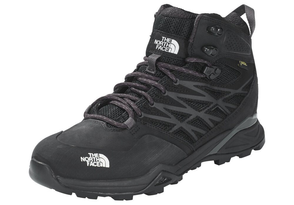 the north face hedgehog hike mid gtx chaussures noir. Black Bedroom Furniture Sets. Home Design Ideas